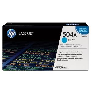 HP 504A CE251A Laservärikasetti cyan