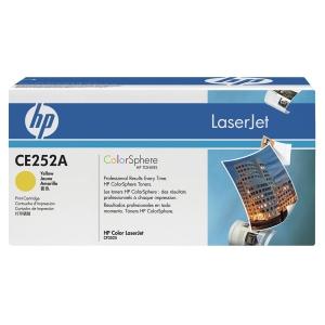 HP 504A CE252A Laservärikasetti keltainen
