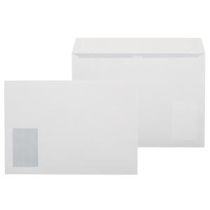 Kirjekuori STC4AH 90 x 60 ikkunalla, valkoinen, myyntierä 1 kpl = 500 kuorta