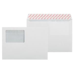 Kirjekuori STC5RH 60x90 ikkunalla, valkoinen, myyntierä 1 kpl = 1000 kuorta