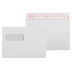 Kirjekuori STE5RH 30x90 ikkunalla, valkoinen, myyntierä 1 kpl = 1000 kuorta