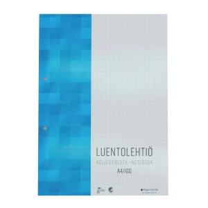 Paperipiste luentolehtiö, A4/100 sivua