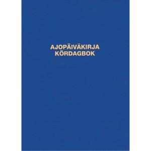 Ajopäiväkirja 187 nidottu A5A pysty, 32 lehteä