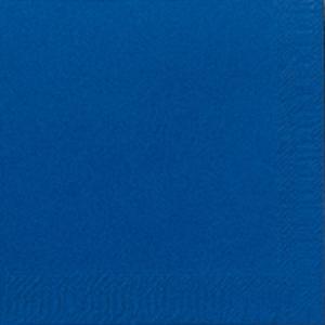 Duni kahviservetti 24x24cm, 2-kert., t.sininen,  myyntierä 1 kpl = 300 liinaa