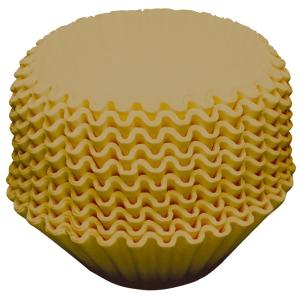 Suodatinpussi vekattu ruskea, 110 mm, myyntierä 1 kpl = 250 pussia
