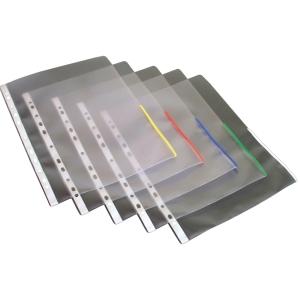 Signaalitasku A4, PP app 170 mic, punainen, myyntierä 1 kpl = 100 taskua
