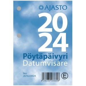 Ajasto Pöytäpäivyri/Datumvisare lehtiökalenteri 83 x 119 mm