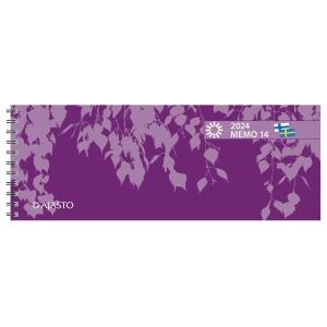 Ajasto Memo 14 pöytäkalenteri 255 x 95 mm