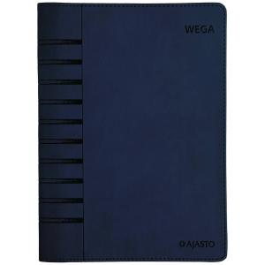 Ajasto Wega pöytäkalenteri A5, tummansininen