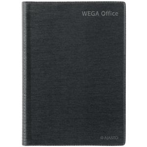 Ajasto Wega Office pöytäkalenteri A5, tummanharmaa