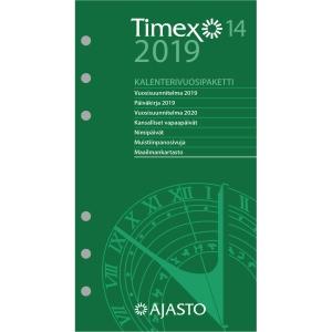 Ajasto Timex 14 kalenterivuosipaketti