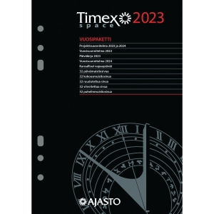 Ajasto Timex Space kalenterivuosipaketti