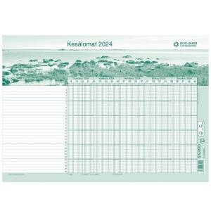 Ajasto Quo Vadis lomakalenteri 2019 - 2020