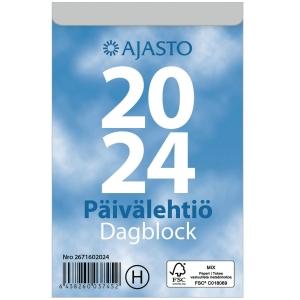 Ajasto Päivälehtiö/Dagblock seinäkalenteri 2020 83 x 128 mm