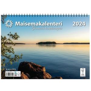 Ajasto Maisemakalenteri 2020 290 x 420 mm