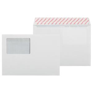 Kirjekuori STE5 156 x 220mm, ikkuna 60 x 90mm, myyntierä 1 kpl = 1000 kuorta