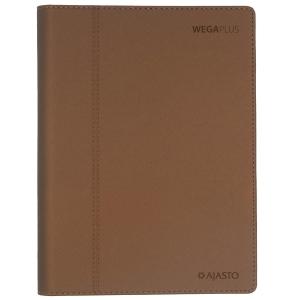 Ajasto Wega Plus pöytäkalenteri A5, luumu