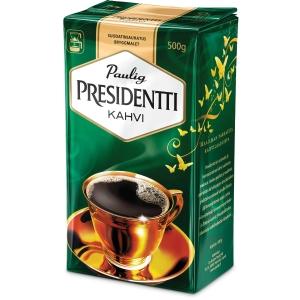 Presidentti kahvi suodatinjauhatus 500g