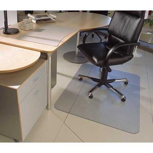 Cleartex lattiasuoja 120 x 150 cm kovalle lattialle, läpinäkyvää PC-muovia