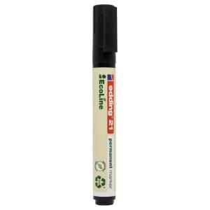 Edding EcoLine 21 huopakynä pyöreä 1,5-3mm, permanent, musta