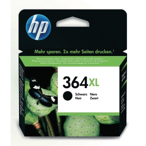 HP No. 364 XL CN684EE Mustesuihkupatruuna musta HPXL