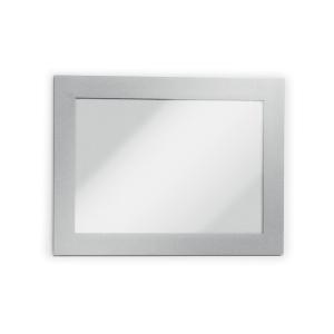 Durable Duraframe 487023 tarrakehys A6 hopea, 1kpl=2 kehystä