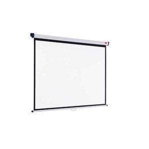 Nobo seinävalkokangas 240 x 181 cm, 4:3
