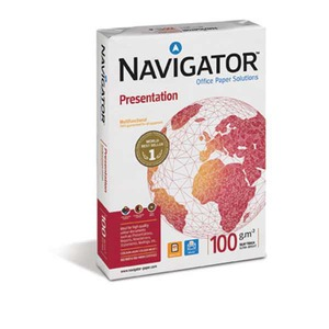 Navigator Presentation kopiopaperi A4 100g, 1 kpl = 500 arkkia