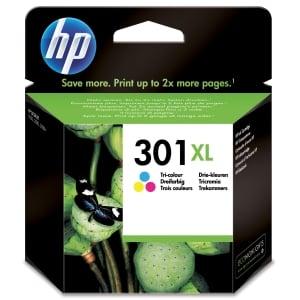 HP 301XL CH564EE Mustesuihkupatruuna 3-väri