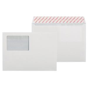 Kirjekuori STC5 60 x 90 ikkunalla, valkoinen, myyntierä 1 kpl = 25 kuorta