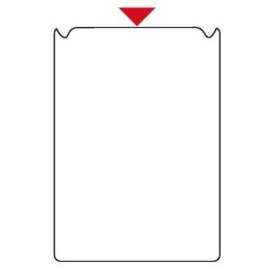 Tarratasku A4 PVC, kirkas, myyntierä 1 kpl = 10 taskua
