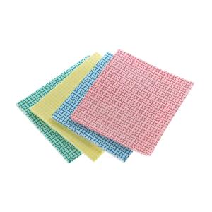 Prima Eco siivouspyyhe 40x35cm punainen, myyntierä 1 kpl = 10 pyyhettä