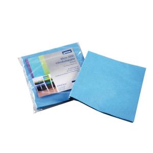 Prima micro 3000 siivouspyyhe 37 x 40 cm sininen, myyntierä 1 kpl = 5 pyyhettä