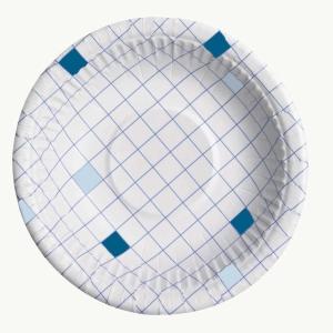Huhtamäki kartonkilautanen syvä 20 cm ruutu , myyntierä 1 kpl = 50 lautasta
