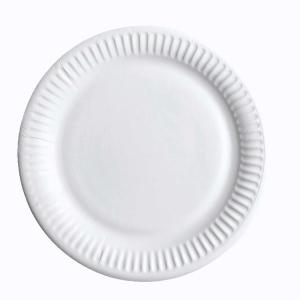 Huhtamäki kartonkilautanen matala 23 cm , myyntierä 1 kpl =  50 lautasta