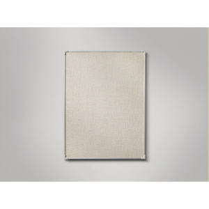 Lintex pellavataulu 120 x 150 cm, alumiinikehys