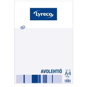 Lyreco avolehtiö A4/70 60g 7 x 7mm ruuduilla