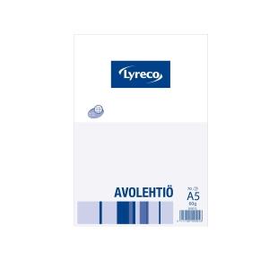 Lyreco avolehtiö A5/70 60g 7 x 7mm ruuduilla