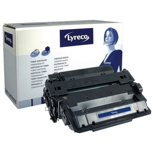 Lyreco HP 55X CE255X laservärikasetti musta