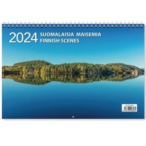CC 5609 Suomalaisia maisemia seinäkalenteri 300 x 400mm