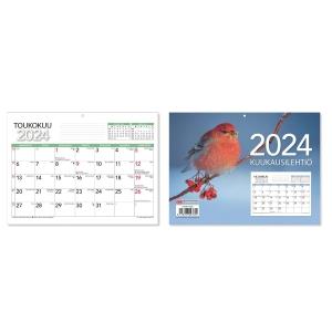 CC 5409 Kuukausilehtiö seinäkalenteri 210 x 156 mm