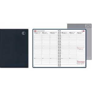CC 2229 Viikkomuistio pöytäkalenteri A5, sininen