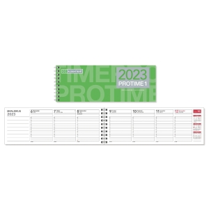 CC 3109 Protime 1 eko pöytäkalenteri 255 x 95 mm