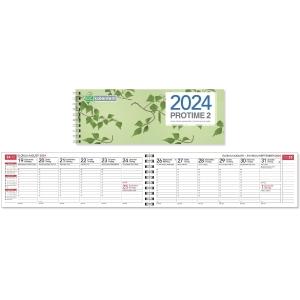 CC 3209 Protime 2 eko pöytäkalenteri 255 x 95 mm