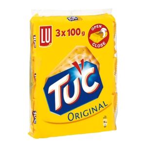 Lu Tuc suolakeksi 100 g, myyntierä 1 kpl = 3 pakettia
