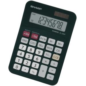 Sharp EL330FBBK pöytälaskin 8 numeron näyttö
