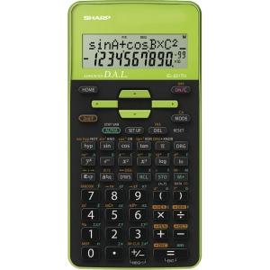 Sharp EL531XHBGR Funktiolaskin, vihreä