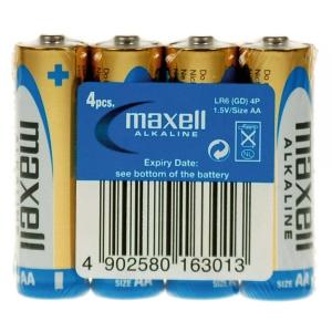 Maxell Paristo shrink AAA/LR3, 1kpl=4 paristoa