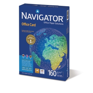 Navigator Office card kopiopaperi A3 160g, 1 kpl = 250 arkkia