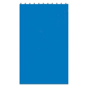 Taskulehtiö 90x148mm 60g, ruudut, sini-valkoinen